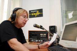 [Bureaux lyonnais de la station radiophonique France-Info]