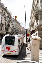 [Transports en commun lyonnais : système de détection radio sur la ligne 1]