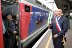 """[Opération """"J'aime le train"""" en gare de Lyon-Part-Dieu]"""