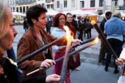 [Manifestation pour la libération de Florence Aubenas et Hussein Hannoun]