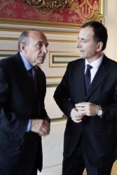 [Rencontre entre Gérard Collomb et Franco Frattini]