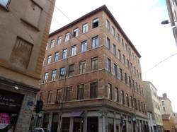 Quartier de la Croix-Rousse. Angle de la rue Pailleron et de la rue du Mail.