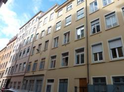Quartier de la Croix-Rousse. Rue d'Ivry.