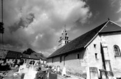 Eglise de Vieu en Valromey (Ain), près de Champagne en Valromey