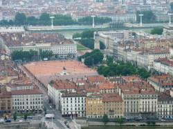 Vue de la place Bellecour
