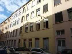 Quartier de la Croix-Rousse. Rue Pelletier.