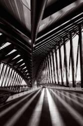 Intérieur de la Gare TGV Lyon Saint-Exupery
