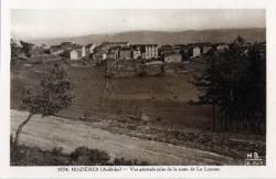 Nozières (Ardèche): Vue générale prise de la route de la Louvesc.