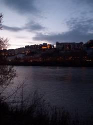 La Croix-Rousse vue du quai de Serbie