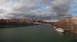 La Croix-Rousse vue du pont Morand