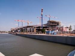 Quartier de la Darse : la place nautique en travaux