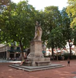 La Statue du Sergent-Blandan