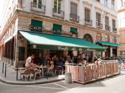 Le Café de la Mairie, place Sathonay