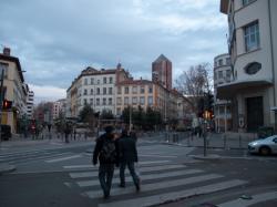 Le Crayon vu de la Place Guichard