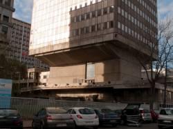 La Tour E.D.F. : détail d'architecture
