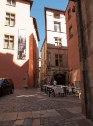 Le musée Gadagne, rue du Boeuf