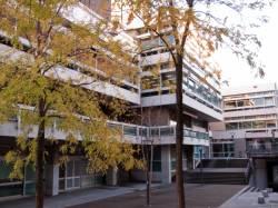 Bibliothèque municipale de Lyon : façade antérieure
