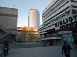 Bibliothèque municipale de Lyon : entrée principale