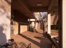 Bibliothèque municipale de Lyon : escalier extérieur