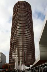 La Tour du Crédit Lyonnais, dans le quartier de la Part-Dieu. Vue prise depuis les Terrasses.