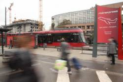 Le Rhône Express, gare de la Part-Dieu