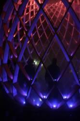Fête des Lumières 2010 : le Gros Caillou, quartier de la Croix-Rousse