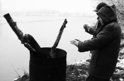 Pêche dans la Dombes 35/36 : Les pêcheurs se réchauffent...
