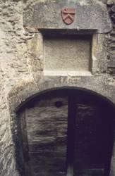 Porte donnant accès à des caves d'époque romaine
