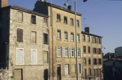 Bâtiments, rues des Chevaucheurs