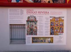 Espace Diego Rivera : plan d'orientation