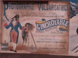"""Quartier des Etats-Unis : mur peint """"Les années 1900"""""""