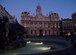 La Place des Terreaux et l'hôtel de ville