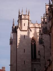 Eglise Saint-Nizier : transept et tour Nord-Est