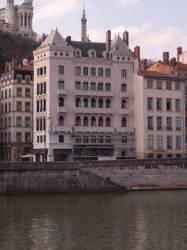 Immeuble Blanchon vue du quai Tilsit