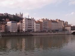 La maison Blanchon vue du quai Tilsit
