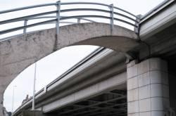 Le pont Clemenceau Birmingham. 3/4