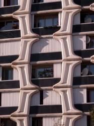 Immeuble de la rue Stéphane-Coignet, à Lyon