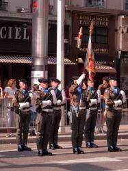 La revue du 13 juillet 2010 à Lyon