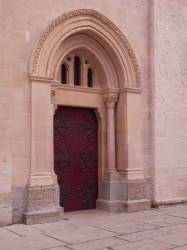 Basilique Saint-Martin d'Ainay : porte de la chapelle Saint-Joseph