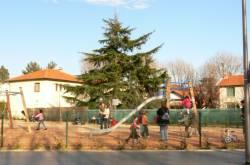 Place de la Liberté : jardin d'enfants