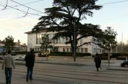 La mairie et le square de Weingarten