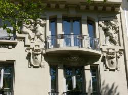 Immeuble d'habitation, 9 avenue Foch (détail)