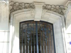 Immeuble d'habitation, 7 avenue Maréchal-Foch (détail)