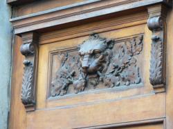 Hôtel du gouverneur militaire de Lyon : détail