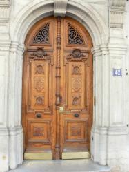 Porte cochère sur l'avenue Maréchal Foch