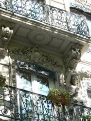 Cariatide, avenue Maréchal Foch