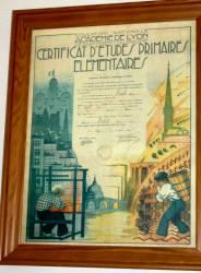 Certificat d'études primaires élémentaires (juin 1941)
