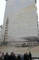 Fresque de la Gare