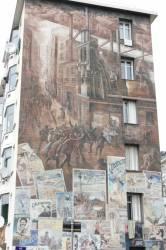 """Fresque """"Les années 1900"""""""