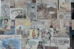 """Fresque """"Les années 1900"""" : détail"""